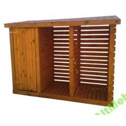 Narzędziówka z drewutnią 260 x 320