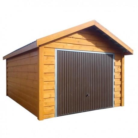 Garaż drewniany 350x550