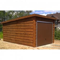 Garaż szkieletowy drewniany 350x550