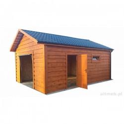 Garaż szkieletowy drewniany 600x500