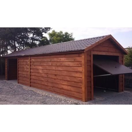 Garaż Szkieletowy Drewniany 1000x350 Pomieszczenie Gospodarcze